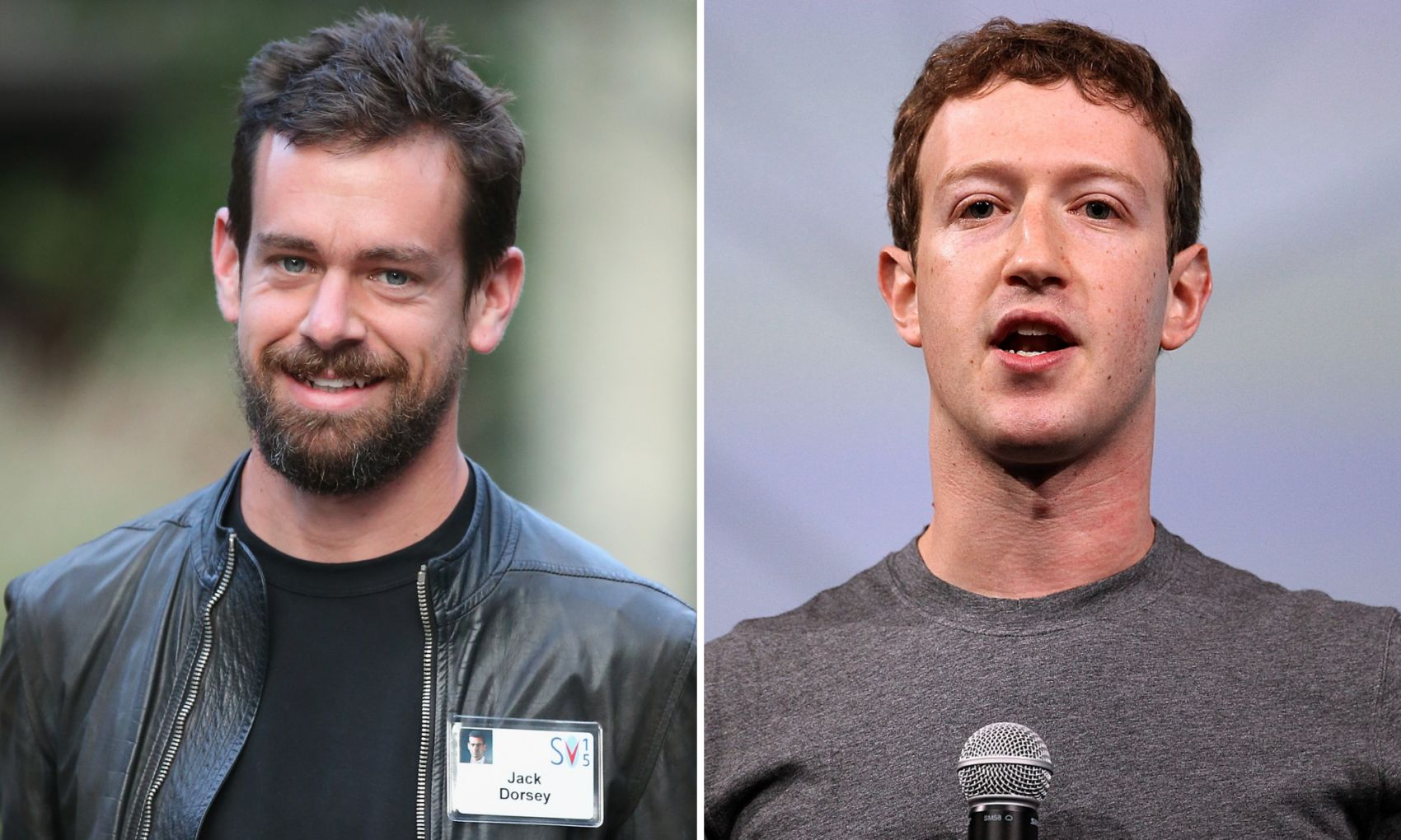 CEO ของ Facebook และ Twitter