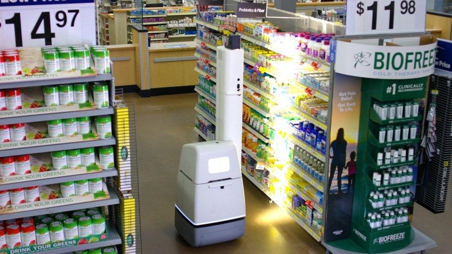 เทคโนโลยีหุ่นยนต์ Wal mart