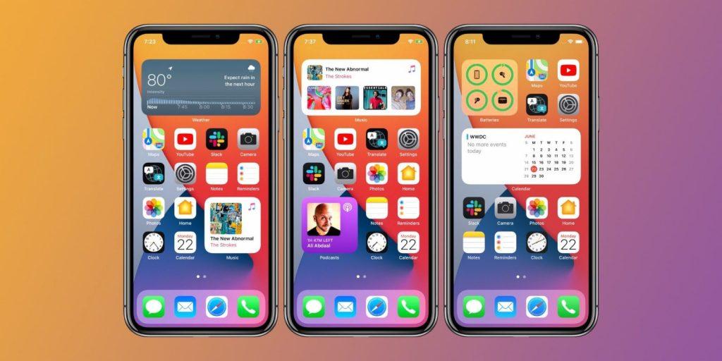 iOS 14 ได้รับความิยมอย่างมาก