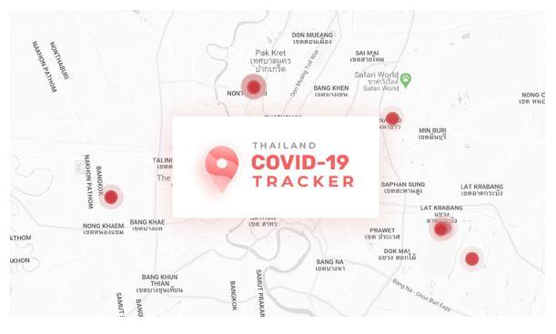 เว็บไซต์ CovidTracker