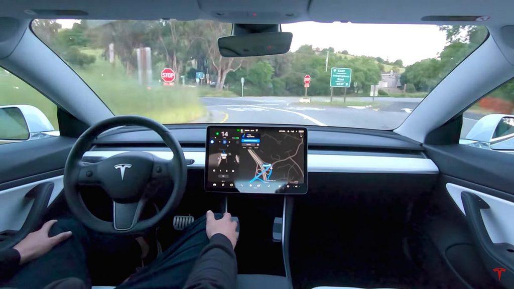 รถยนต์ของ Tesla