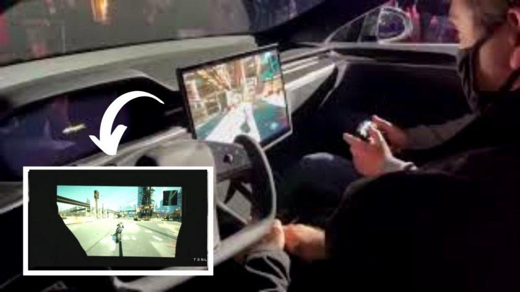 อีลอน มัสก์ เล่น Cyberpunk 2077