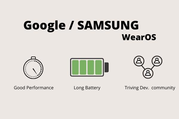 Smart Watch ที่จะใช้ระบบปฏิบัติการ WearOS