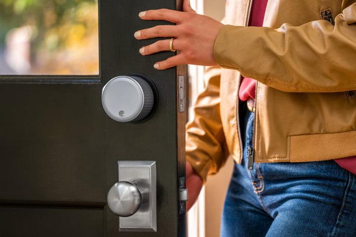 เทคโนโลยี August Smart Lock การรักษาความปลอดภัย